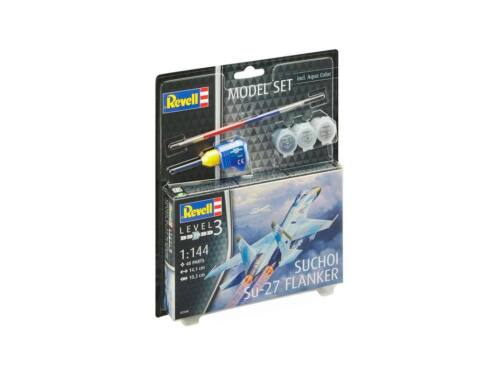 Revell Model Set Suchoi Su-27 Flanker 1:144 (63948)