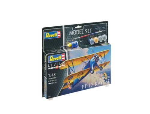 Revell Model Set Stearman PT-17 Kaydet 1:48 (63957)
