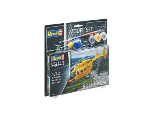 Revell Model Set BK-117 ADAC 1:72 (64953)