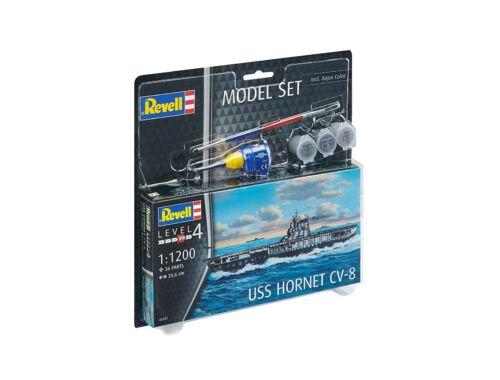 Revell Model Set USS Hornet CV-8 1:1200 (65823)