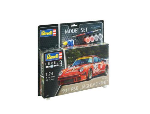 Revell Model Set Porsche 934 RSR Jagermeister 1:24 (67031)