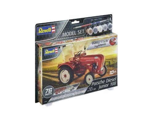 Revell Model Set Porsche Diesel Traktor Junior 108 1:24 (67820)