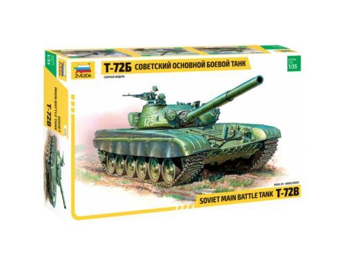 Zvezda Soviet T-72B Main battle tank 1:35 (3550)