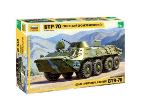 Zvezda BTR-70 Soviet APC 1:35 (3556)