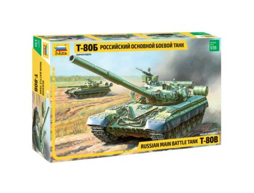 Zvezda T-80B Russian MBT 1:35 (3590)