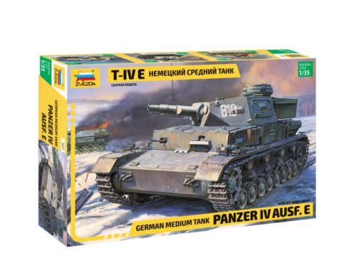 Zvezda Military Panzer IV Ausf.E 1:35 (3641)