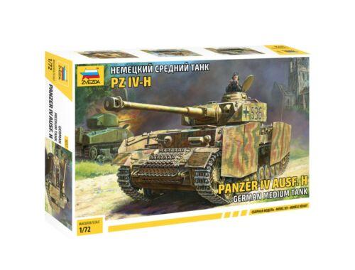 Zvezda Panzer IV Ausf.H Medium Tank 1:72 (5017)