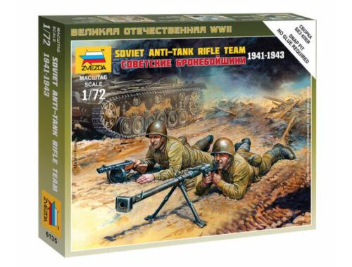 Zvezda Soviet Anti-Tank Rifle Team 1941-1943 1:72 (6135)