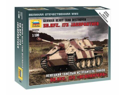 Zvezda Sd.Kfz.173 Jagdpanther 1:100 (6183)