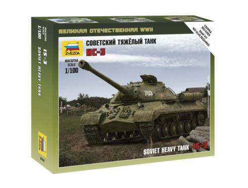 Zvezda Soviet Tank IS-3 1:100 (6194)