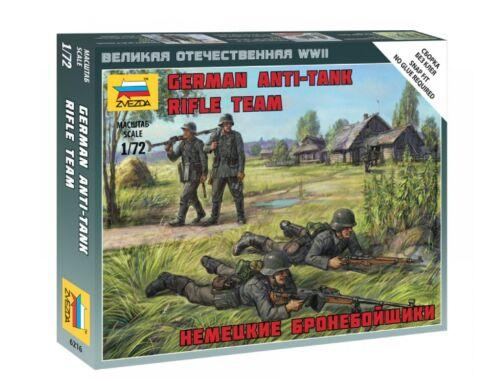 Zvezda German Anti Tank Rifle Team 1:72 (6216)