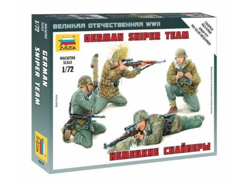 Zvezda German Sniper Team 1:72 (6217)