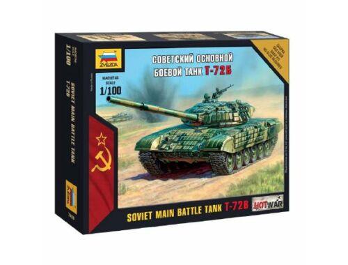 Zvezda Soviet Main Battle Tank T-72B 1:100 (7400)