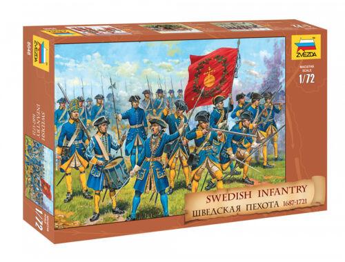 Zvezda Swedish Infantry 1:72 (8048)