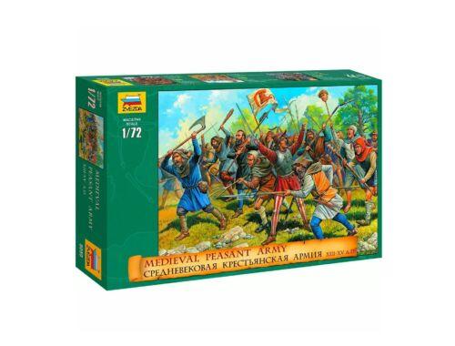 Zvezda Medieval Peasant Army 1:72 (8059)