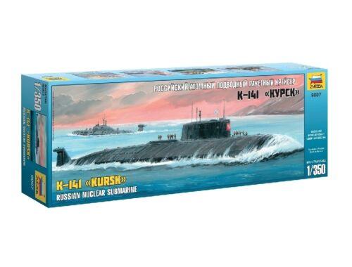 Zvezda K-141 Kursk Russian Nuclear Submarine 1:350 (9007)