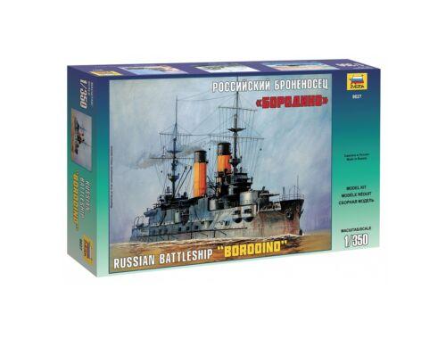 Zvezda Russian Battleship `Borodino` 1:350 (9027)