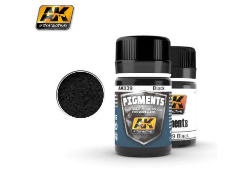 AK Pigments Black pigment (fekete pigment) AK039