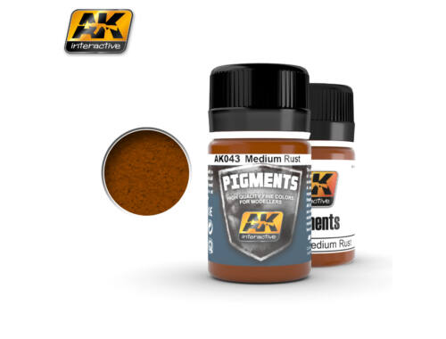 AK Pigments Medium Rust (általános rozsda) AK043