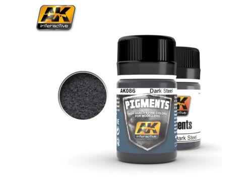 AK Pigments Dark Steel (sötét acél) AK086