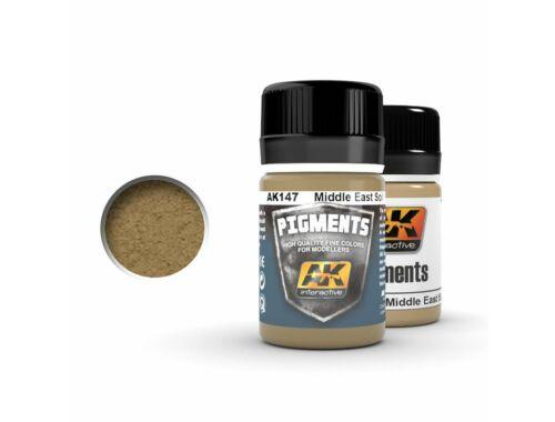 AK Pigments Middle east soil (Közel-Keleti talaj színű) pigment AK147