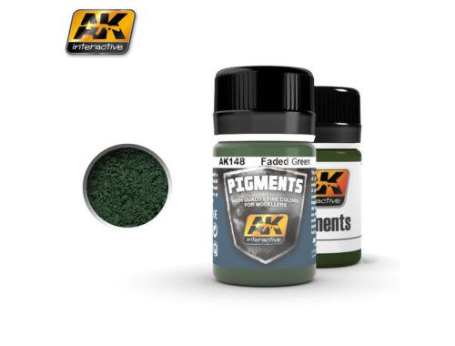 AK Pigments Faded Green (fakó zöld) pigment AK148