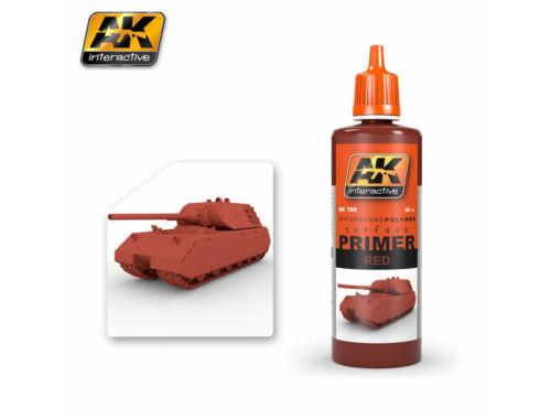 AK Surfacer Red Primer (vörös alapozó festék) AK180