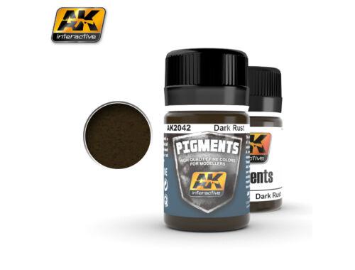 AK Pigments Dark Rust (sötét rozsda) AK2042