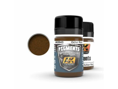 AK Pigments Ocher Rust (okker rozsda) AK2043