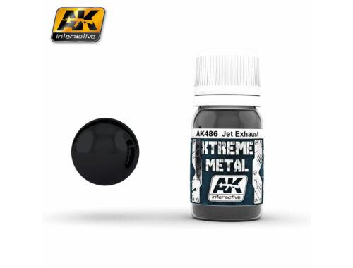 AK Xtreme metal jet exhaust AK486