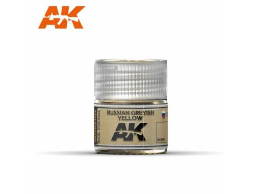 AK Real Color Russian Greyish Yellow (Orosz szürkés sárga) RC099