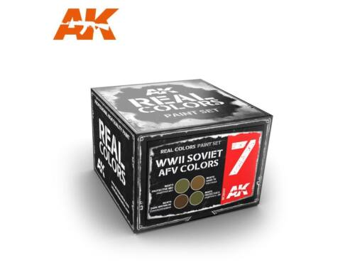 AK Real Color WWII Soviet colors set RCS007