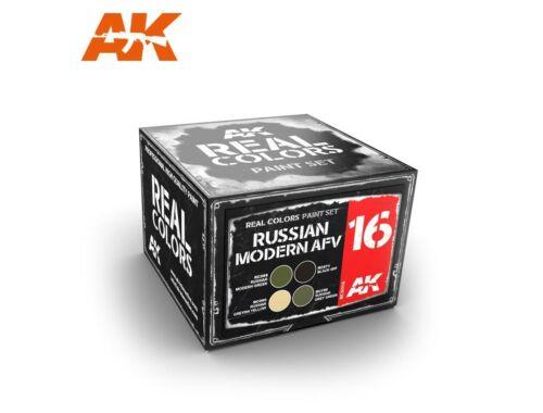 AK Real Color Russian Modern AFV colors set RCS016