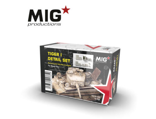 MIG Productions 1:72 Tiger I detail set MP72-045