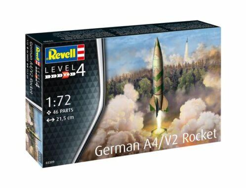 Revell German A4:V2 Rocket 1:72 (3309)