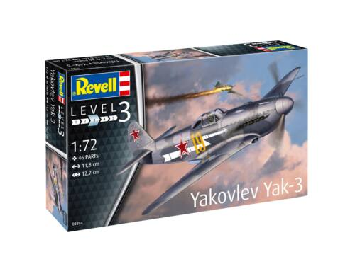Revell Yakovlev Yak-3 1:72 (3894)