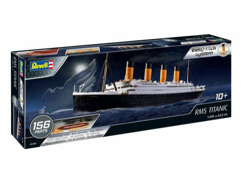 Revell RMS Titanic Easy-Click 1:600 (5498)
