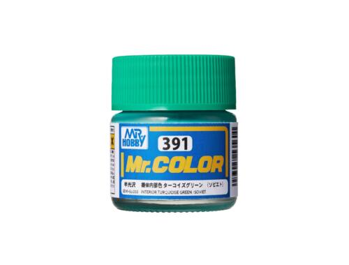 Mr.Hobby Mr. Color C-391 Interior Turquoise Green (Soviet)