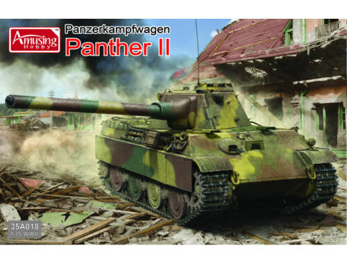 Amusing H. German Panther II 1:35 (35A018)