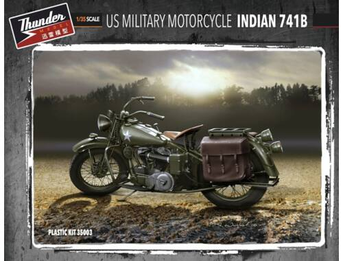 Thunder Model US Military Motorcycle 741B 1:35 (35003)