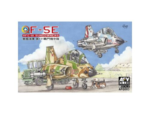 AFV-Club Q-F-5E VFC-III Sundowners Egg Planes (AFQ003)
