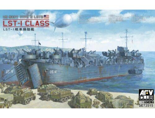 AFV-Club US WW2 LST-1 Class 1:350 (SE73515)