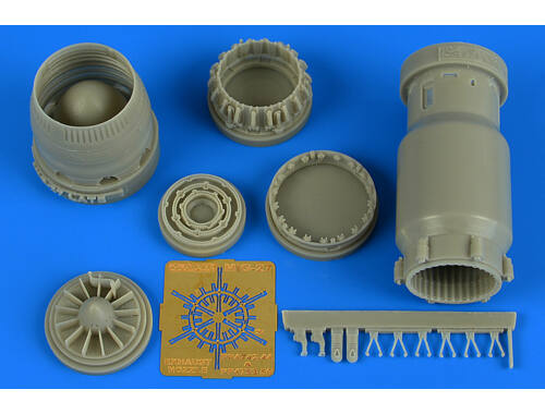 Aires MiG-27 Flogger late exhaust nozzle-opene for Trumpeter 1:48 (4742)