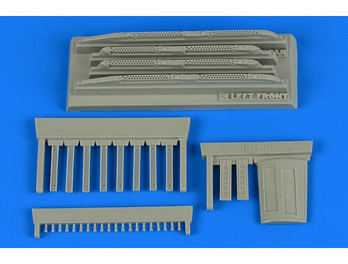 Aires Su-17/22M3/M4 Fitter K covered chaff/fla dispensers for Kitty Hawk 1:48 (4747)