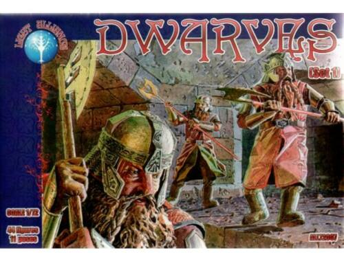 ALLIANCE Dwarves, set 1 1:72 (72007)