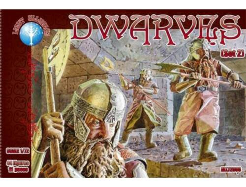 ALLIANCE Dwarves, set 2 1:72 (72008)