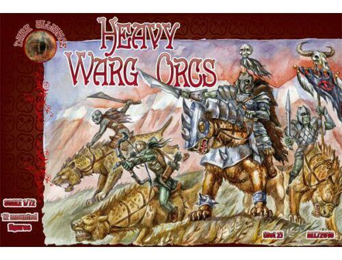 ALLIANCE Heavy Warg Orcs 1:72 (72010)