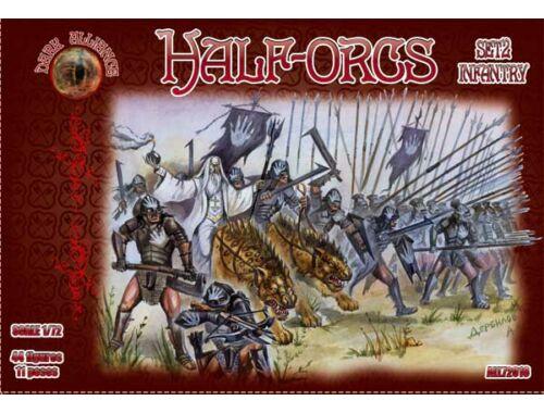 ALLIANCE Half-Orgs infantry, set 2 1:72 (72016)