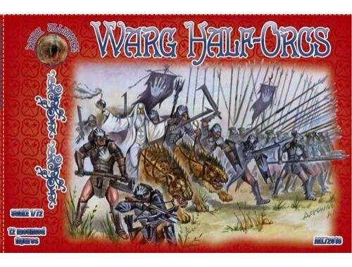 ALLIANCE Warg Half-Orcs 1:72 (72018)
