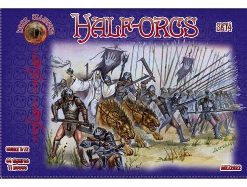 ALLIANCE Half-Orcs, set 4 1:72 (72022)
